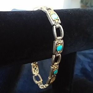 VERY RARE FIND-14K & 925 GABRIELLE BRUNI Bracelet